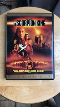 The Scorpion King DVD Movie Laurel
