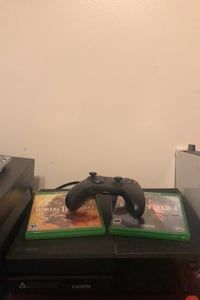 Xbox one 500gb with mk11 and Battlefield 1 New Castle, 19720