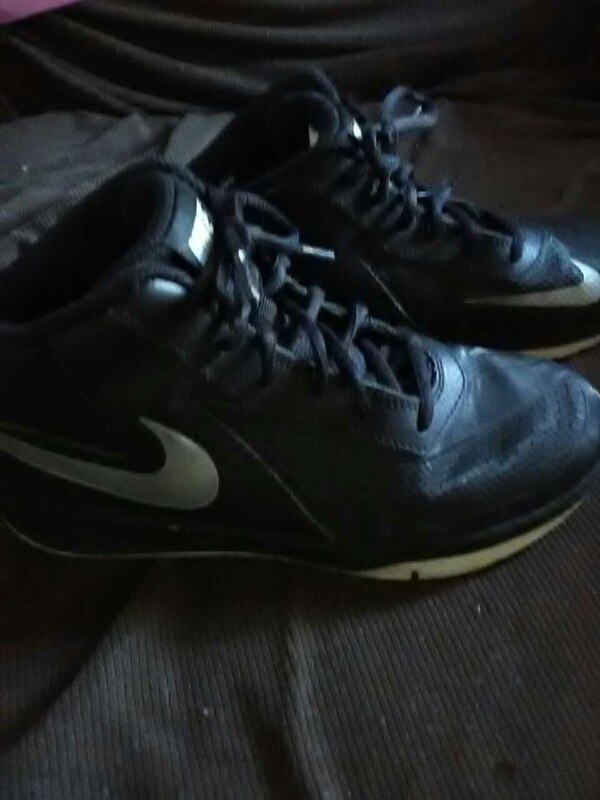 4435fc681eb7 Used black and white nike basketball shoes for sale in Taunton - letgo