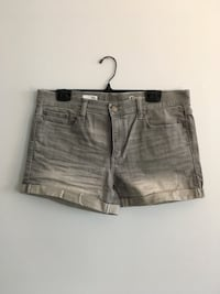 Gap size 30 grey ombré denim shorts  Halifax, B3J 3R3