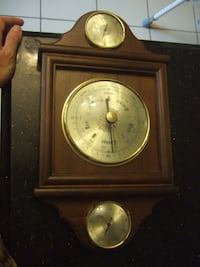 German Weather Station / Thermometer, Barometer and Hygrometer / Temperature, Atmospheric Pressure and Humidity,8943 536 km