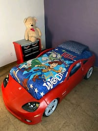 Bed car and stand