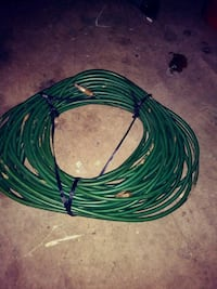 green and black coated cable Springfield