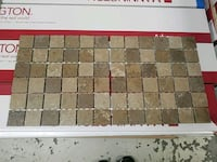 2 inch Mosaic sheet tile two available