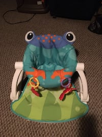 Frog baby seat