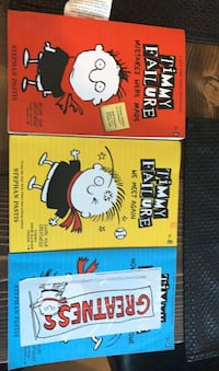 Timmy failure books 1,2,3  Edmonton, T5A 1X5