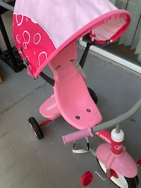 Tri cycle for kids Radio Flyer 4-in-1 Stroll 'N Trike, Pink Campbell, 95008