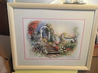 Really pretty framed painting