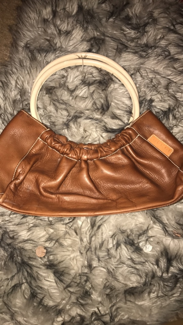 0b0c7b7ad1ff Used Brown leather (REAL)VINTAGE GUCCI for sale in Austell - letgo