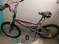 toddler's pink bicycle 619 mi