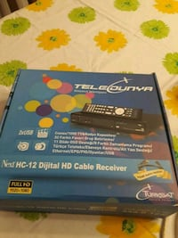 Teledunya Digital Hd cable receiver Sahrayı Cedit, 34734