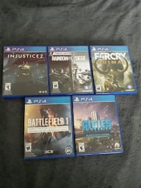 five PS4 games