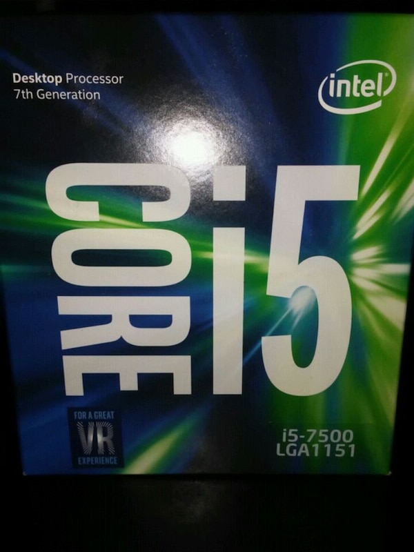 *Brand New* Intel i-5 7500 with Fan