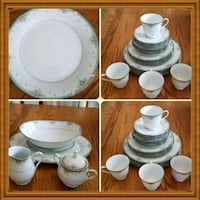 white ceramic tea set collage Frederick, 21703