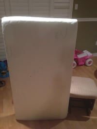 white mattress with ottoman chair Toronto