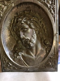 Jesus and Mary embossed copper wall art Fairfax, 22030