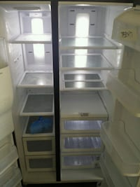 white side-by-side refrigerator Hollywood, 33021