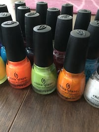 China glaze nail polish collection by OPI Innisfil, L9S 2K7