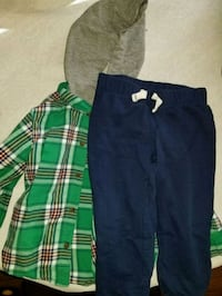 2 toddler outfits size 3T College Park