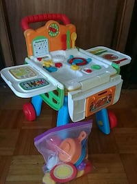 vtech  2 in 1 Shop & Cook playset Pickering, L1W 2N5