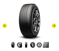 Michelin X ICE X13 tires (four) NEWHAVEN