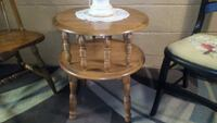 Round double decker table Williamsport