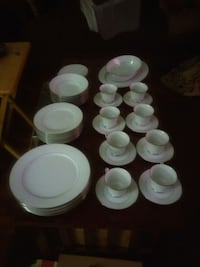 white ceramic plates and cups Glendale, 85301