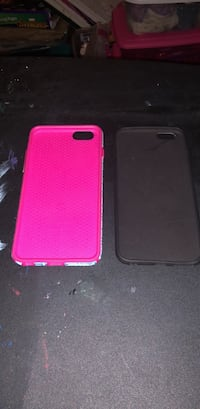 two black and pink iPhone cases 28 mi