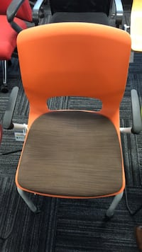 orange and black rolling chair Columbia, 21046