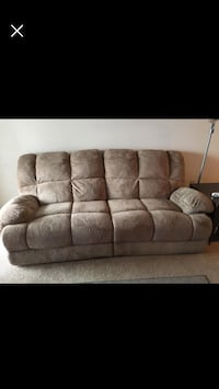 brown fabric 3-seat sofa screenshot Stafford, 22556