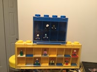 2 LEGO cases with people Surrey, V3S