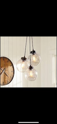 NIB Pottery Barn Calhoun Multi Pendant Light Ashburn, 20147