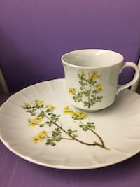 Teacup / coffee cup and luncheon saucer vintage Phillipsburg, 08865