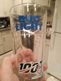 Bud Lite Collectible Glass