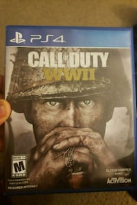 Sony PS4 Call of Duty WWII case Woodlawn, 21244