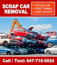 TOP CASH FOR SCRAP Cars Toronto