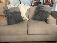 Oatmeal couch set