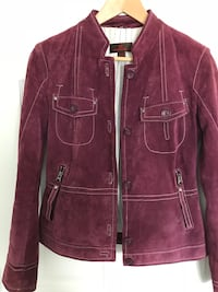 Danier Suede Leather Jacket, XS, Mint Condition Calgary, T2A 3E5