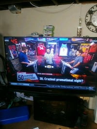 65 inch Mitsubishi tv great condition Redford Charter Township