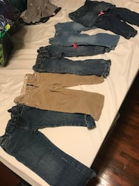 Size 3t baby girl pants/jeans Midwest City, 73110
