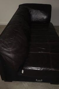 L shape leather couch Frederick, 21703