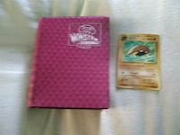Book of Pokemon cards in a Chinese Pokemon card 657 mi