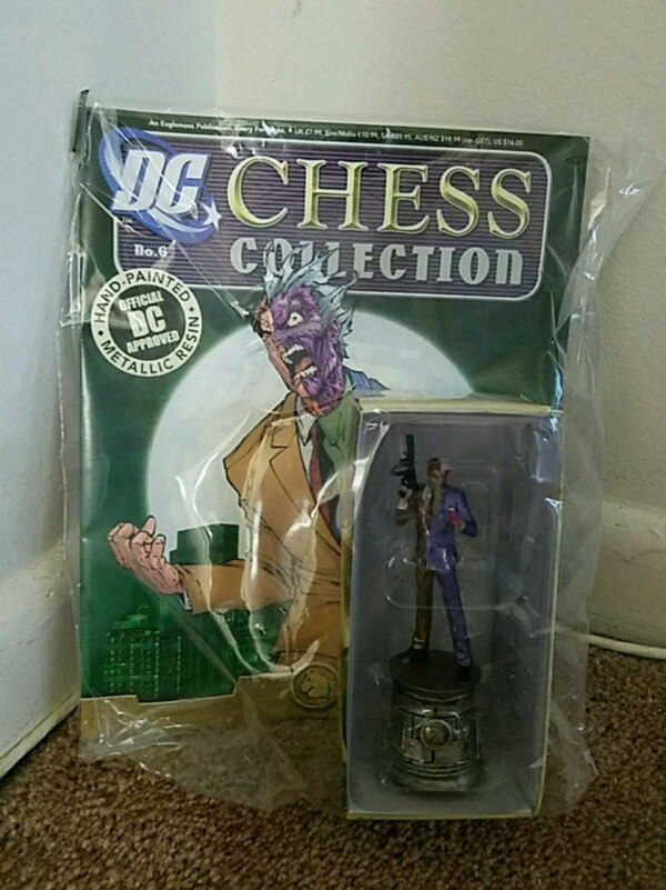 Two Face Chess Piece