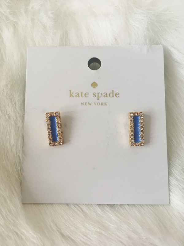 BRAND NEW Kate Spade Earrings & Pouch 357442d2-1c0a-4a1b-ae29-6cac876c2c14