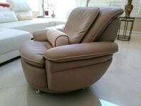 Swivel Leather Lounger - Holiday Reduced 20% Las Vegas, 89144