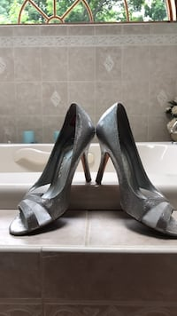 Silver High Heels Size 9  Worcester, 01606