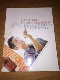 Canadian Entrepreneurship & Small Business Management 9th