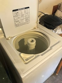 white top-load clothes washer Fort Worth, 76105