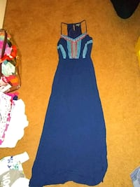 blue and red sleeveless dress Palm Springs, 92262