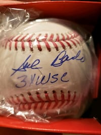 Sal Bando signed baseball